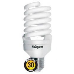 Компактная люминесцентная лампа Navigator NCLP-SF-30-827-E27 30Вт Pro 94 358