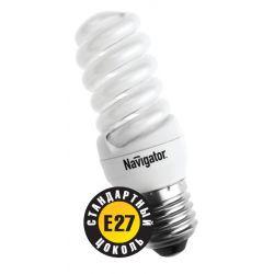Компактная люминесцентная лампа Navigator NCL-SF10-15-827-E27 15Вт 94 286
