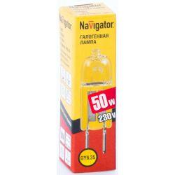 Галогенная лампа без рефлектора Navigator NH-JCD-50-220-G6.35 220V 50W 94 214