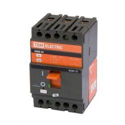 Автоматический выключатель 3П 100А 25кА ВА88-32 TDM