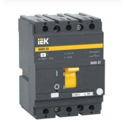 Автоматический выключатель 3П 100А 35кА ВА88-33 IEK