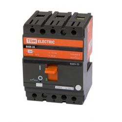 Автоматический выключатель 3П 100А 35кА ВА88-33 TDM