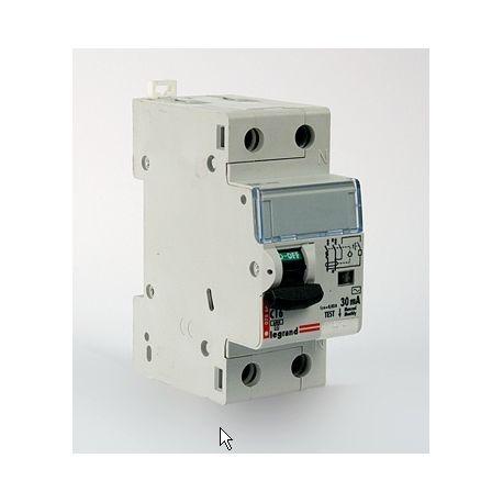 Дифференциальный автомат 2П 16А 30мА Legrand RX3 АВДТ характеристика С тип AC 1П+N 419399