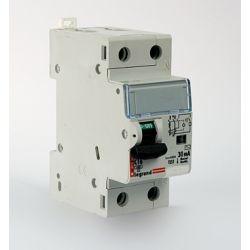 Дифференциальный автомат 2П 20А 30мА Legrand RX3 АВДТ характеристика С тип AC 1П+N 419400
