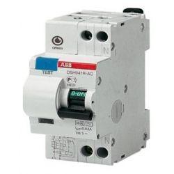 Дифференциальный автомат 2П 25А 30мА ABB DSH941R характеристика С тип АС ELC 2CSR145001R1254