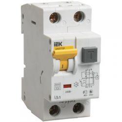 Дифференциальный автомат 2П 25А 30мА IEK АВДТ-32 характеристика С
