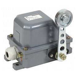 Выключатель концевой IEK КУ-701 У1, рычаг с роликом, IP44, 10А, 2 электрической цепи
