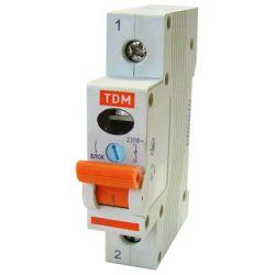 Выключатель нагрузки 1П 32А TDM ВН-32