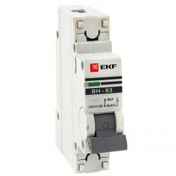 Выключатель нагрузки 1П 40А EKF PROxima ВН-63
