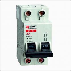 Выключатель нагрузки 2П 63А EKF PROxima ВН-63