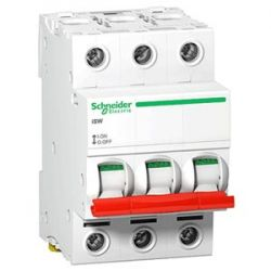 Выключатель нагрузки 3П 32А Schneider Electric Acti9 iSW A9S60332 (аналог Multi9 15011)